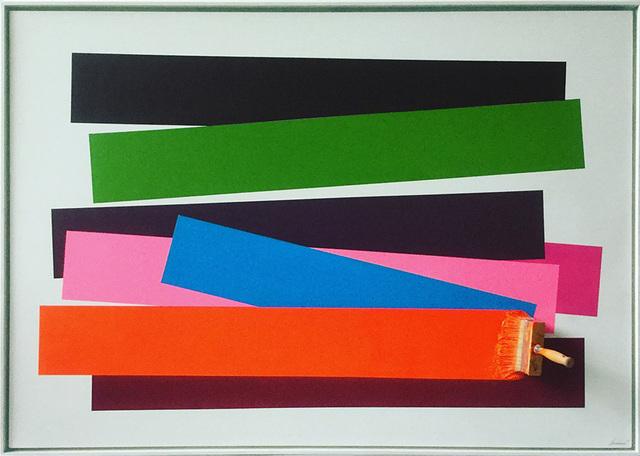 Jean-Paul Donadini, 'Brosse Arrétée Multicolors', 2019, Ransom Art