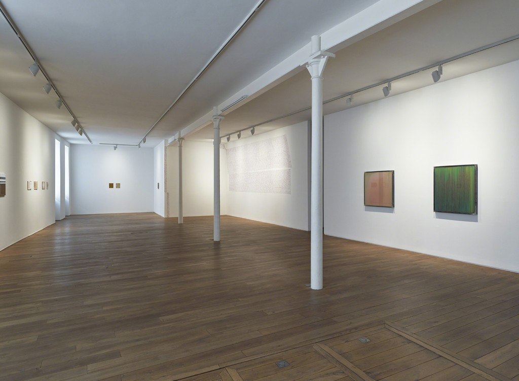 Installation view of  the group exhibition 'ABJAD'