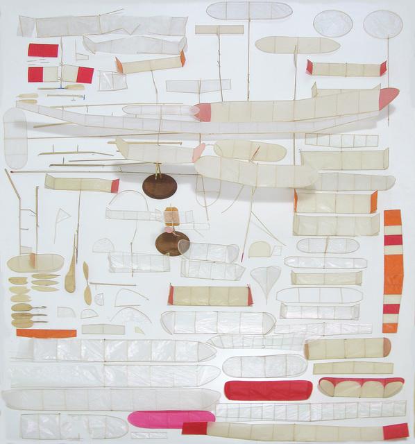 , 'Cementerio de aeromodelos de interior,' 2016, Ruth Benzacar Galería de Arte