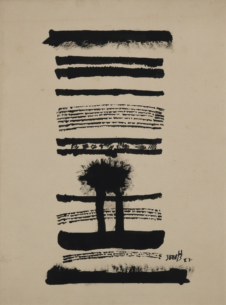 V. S. Gaitonde, 'Untitled,' 1987, Guggenheim Museum