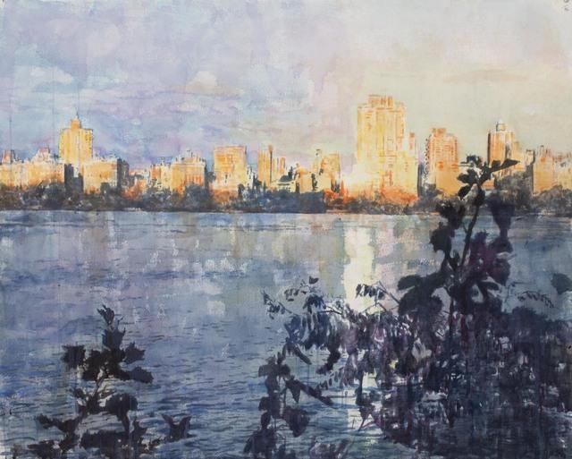 "Norbert Waysberg, '""Reservoir 2""', 2018, Gallery 104"