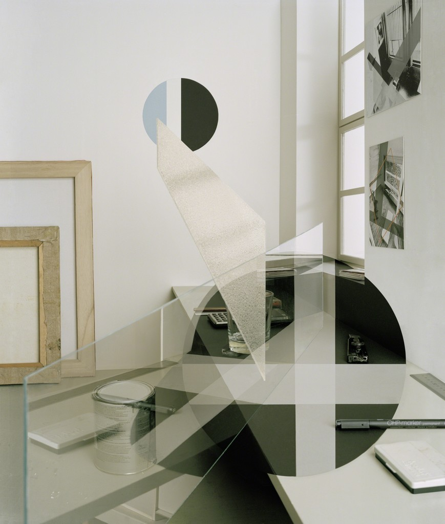 Christine Erhard A XX, Lambda – Print behind Acrylic Glass, framed (canvas  oater), Edition 5+2 AP, Edition 2, 140 x 120 cm, 2012
