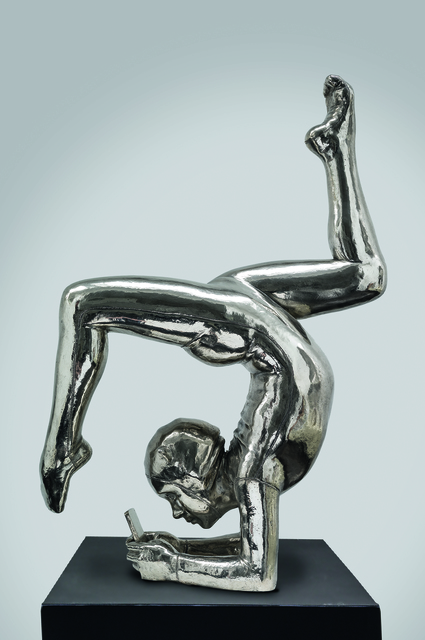 , 'Contorsionniste à l'iPhone,' 2015, Opera Gallery