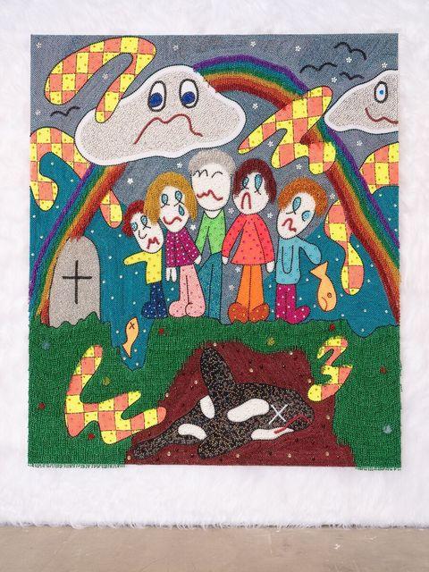 Benjamin Cabral, 'A Ceremonial Burial (2)', 2019, Mindy Solomon Gallery