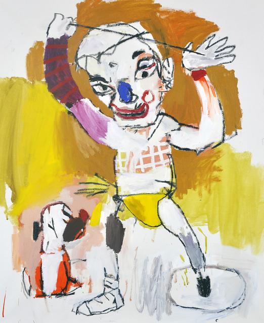 , 'The circle in my foot,' 2018, Galerie Heike Strelow