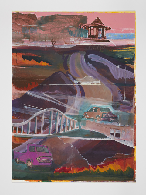 , 'Car Stacks,' 2016, Josh Lilley