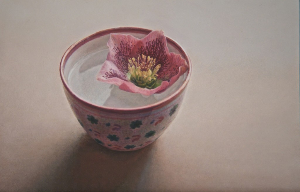 Flower in a Lustre cup