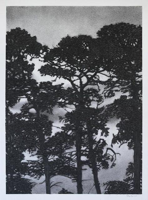 , 'Nightfall Silhouette,' 2017, OLSEN GALLERY