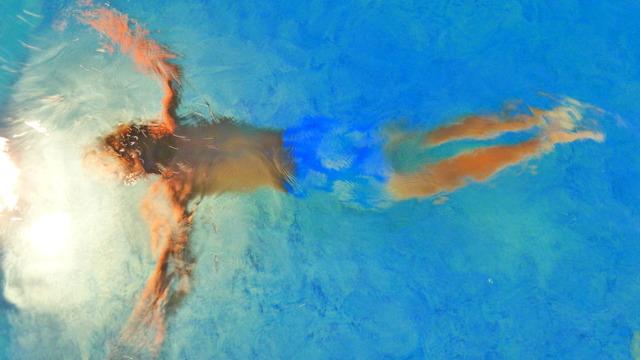 , 'Swimmer 1,' 2012, Julie M. Gallery