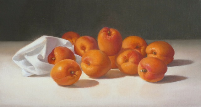 , 'Apricots,' 2017, The Biscuit Factory
