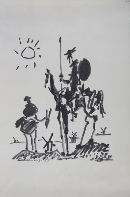 Pablo Picasso, 'Don Quixote', Chiswick Auctions
