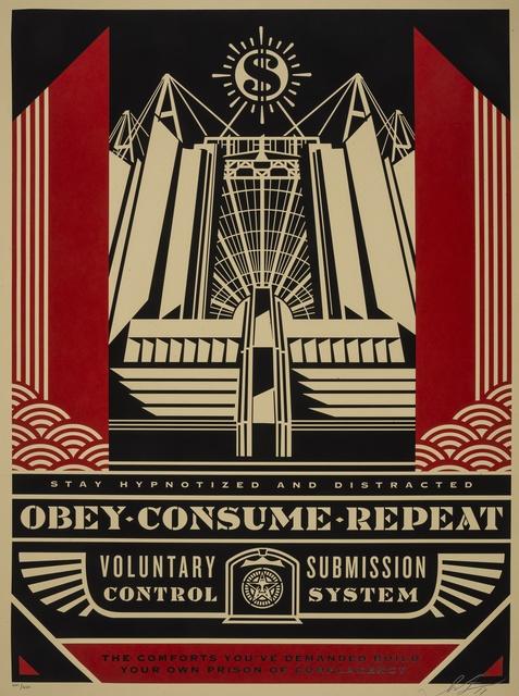 Shepard Fairey (OBEY), 'Church of Consumption', 2017, Forum Auctions