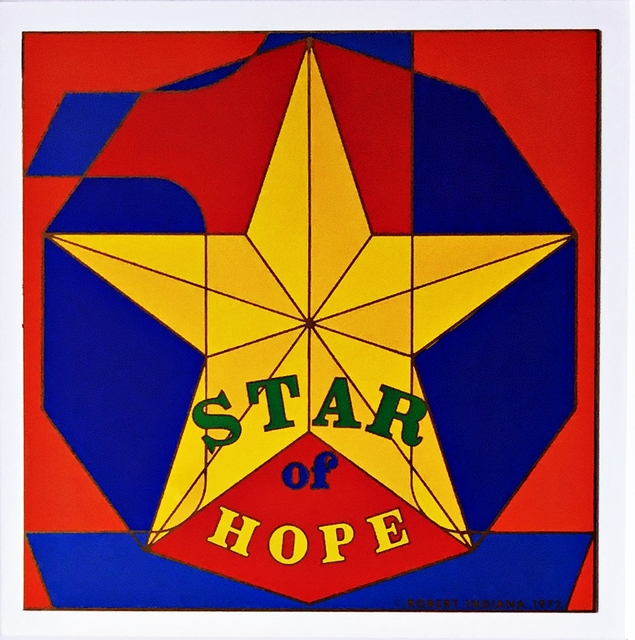 Robert Indiana, 'Star of Hope', 1972, Alpha 137 Gallery