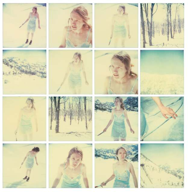 Stefanie Schneider, 'Frozen', 2001, Photography, Analog C-Prints, hand-printed by the artist, based on 16 expired original Polaroids. Mounted on Aluminum with matte UV-Protection., Instantdreams