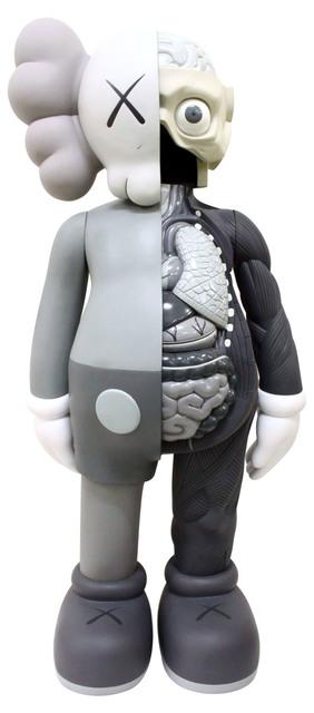 KAWS, '4 FOOT DISSECTED COMPANION (GREY)', 2009, Sculpture, Fiber-reinforced plastic, Marcel Katz Art