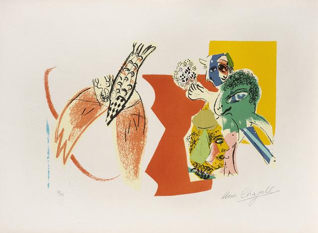 Marc Chagall, 'Composition pour XXe siècle', 1966, Il Ponte