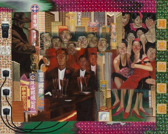 Ji Wenyu, 'Weekend Night', 2006, Painting, Oil on canvas, Heritage Auctions