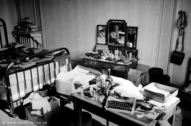 , 'Lee Miller Room at Hotel Scribe, Paris by David Scherman,' 1944, °CLAIR Galerie