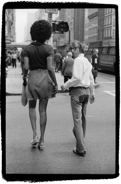 , 'Woody Allen and Tamara, 57th Street Bridge, New York,' 1971, Staley-Wise Gallery