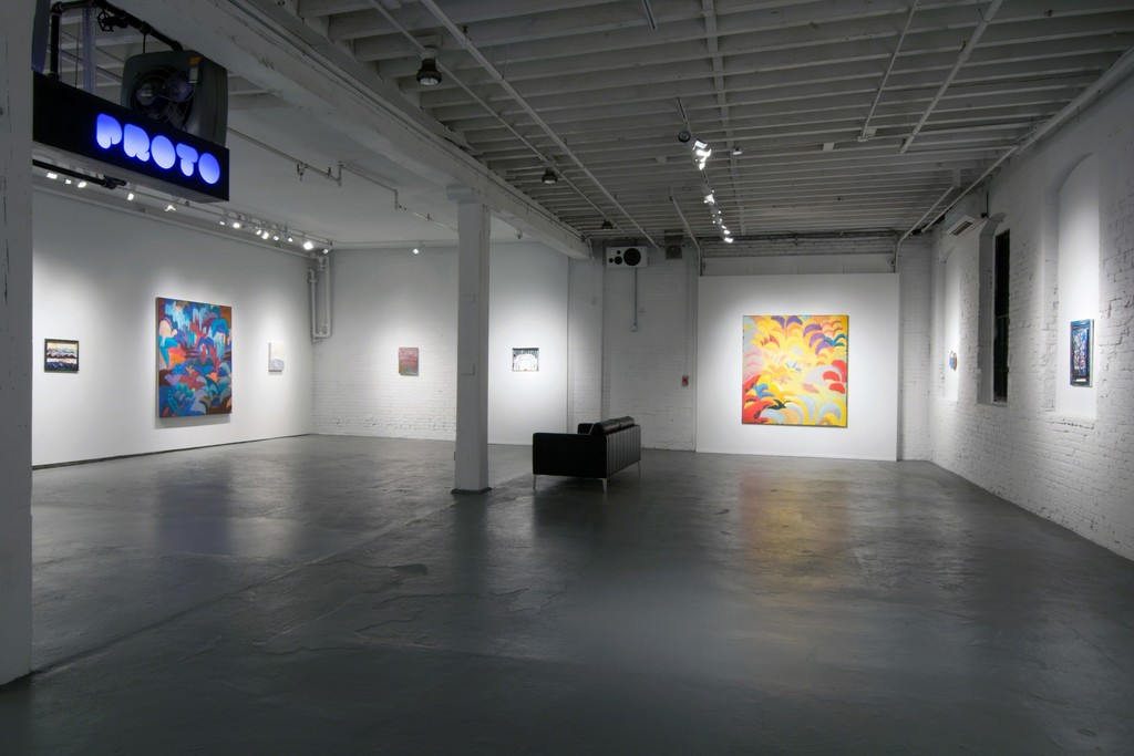 A wide view of WE ARE WHAT THE SEAS HAVE MADE US at PROTO Gallery