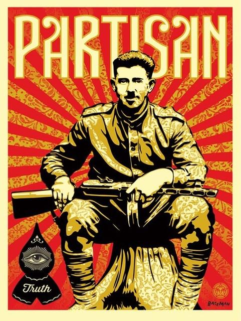 Shepard Fairey (OBEY), 'Shepard Fairez x Gary Baseman Partisan Print', 2013, Rudolf Budja Gallery