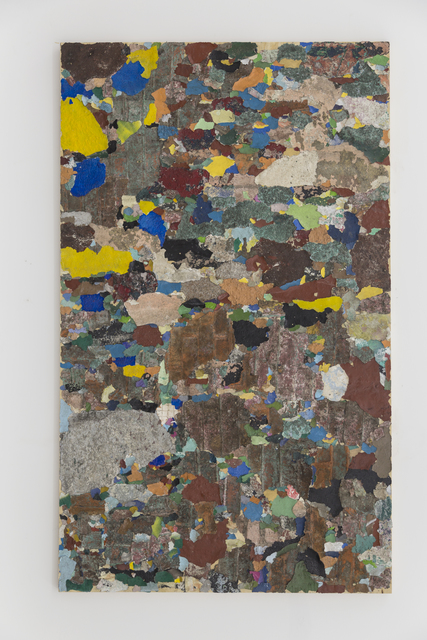 , 'Forma semejante al cuadrado vuelto contra el muro,' 2017, Galeria Enrique Guerrero