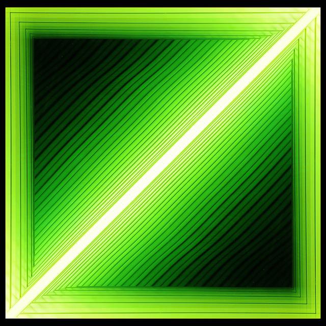 Chul-Hyun Ahn, 'Forked (Diagonal Green)', 2012, C. Grimaldis Gallery