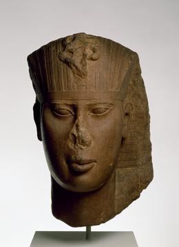 'Head of King Amasis', ca. 560 B.C., Walters Art Museum