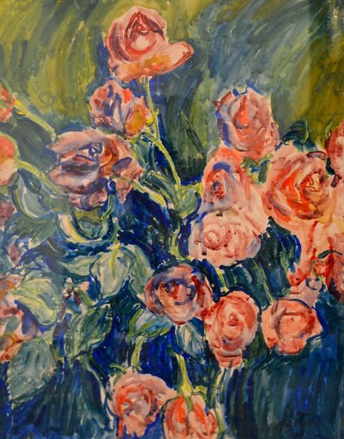 , 'Roses,' 1936, Waterhouse & Dodd