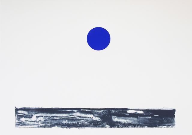 , 'Blue Moon #1,' 2015, STPI