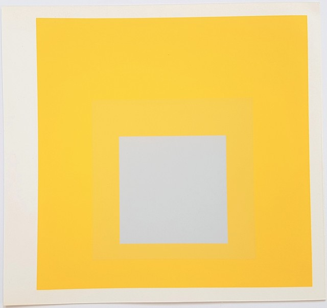 Josef Albers, 'Homage to the Square: Selected', 1977, Cerbera Gallery