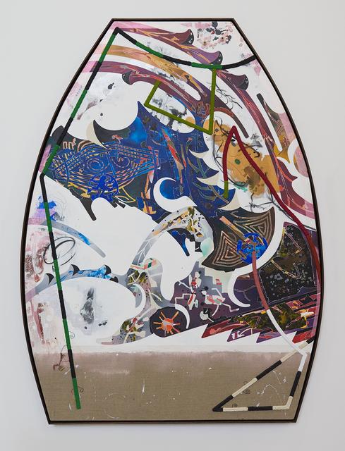 , 'I.O.U. a U.F.O. 2,' 2017, Johannes Vogt Gallery