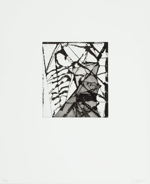 Brice Marden, 'Etchings to Rexroth, 16', 1986, Heritage Auctions