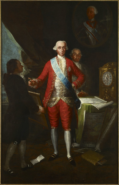, 'The Count of Floridablanca,' 1783, The National Gallery, London
