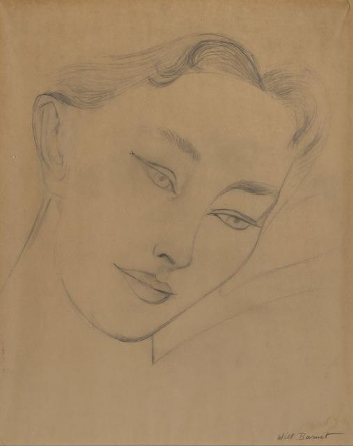 Will Barnet, 'Untitled, Study for Sleeping Child', circa 1962, Doyle