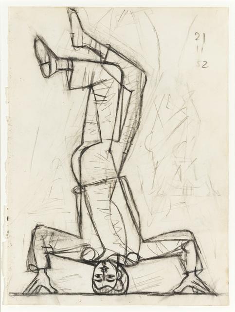 , 'Dancer III,' 1952, Osborne Samuel