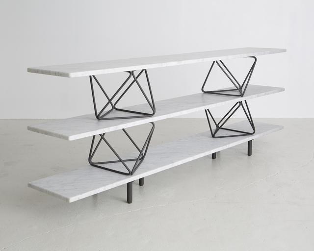 ", '""Octahedron"" shelves,' , Frederieke Taylor Gallery"