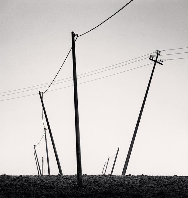 , 'Ten Slanted Poles, Castilenti, Abruzzo, Italy,' 2015, Robert Mann Gallery