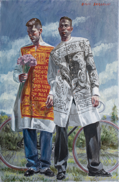 Mark Beard, 'Two Priests', Date Unknown, Carrie Haddad Gallery