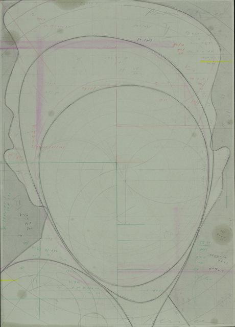 , ' Ohne Titel (Porträt),' 2008, Galerie Bob van Orsouw