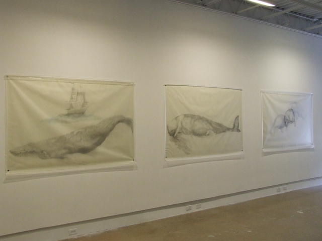 , 'Whale with Ship, Whale, and Three Manatees,' 2009, Fort Worth Contemporary Arts