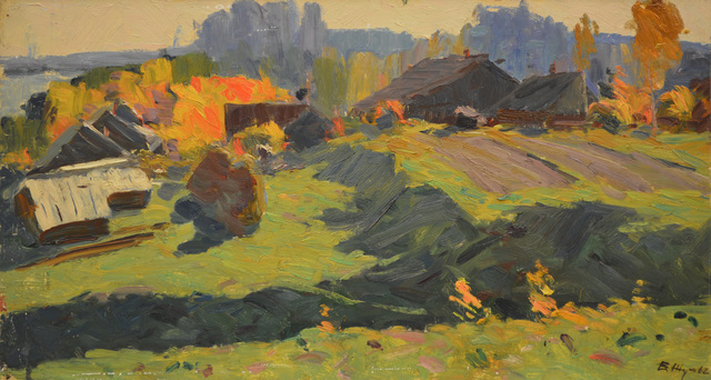 Vladimir Klimentevich Zhuk, 'Close to Iksha River', 1962, Surikov Foundation