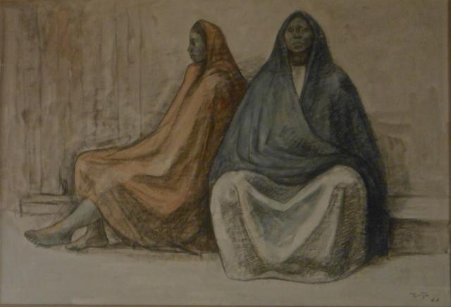 , 'Two SeatedWomen,' 1962, Stern Fine Art