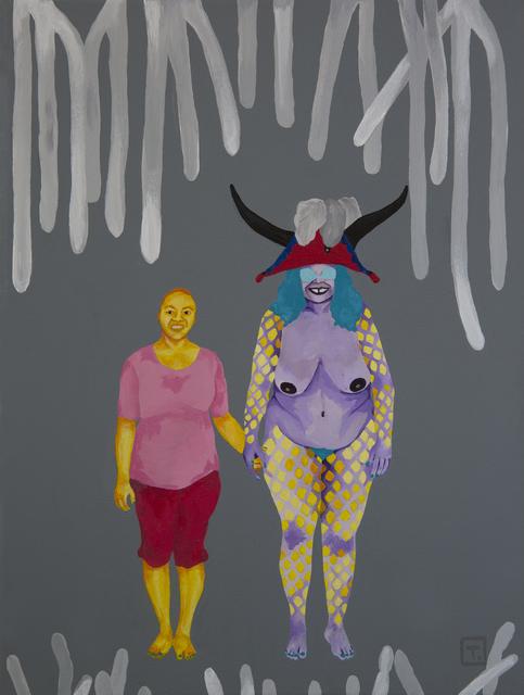 , 'We are here III - Elle et moi,' 2016, Le Centre d'Art d'Haïti
