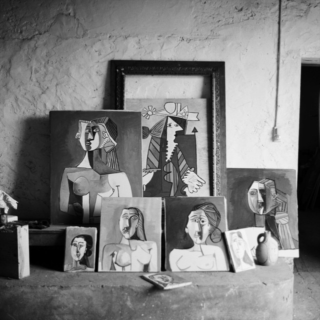 Edward Quinn, 'Picasso's studio, Vallauris', 1953, Gagosian