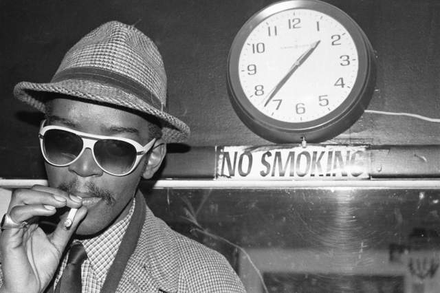 , 'Fab 5 Freddy No Smoking, TV Party ,' 1980, Wallplay