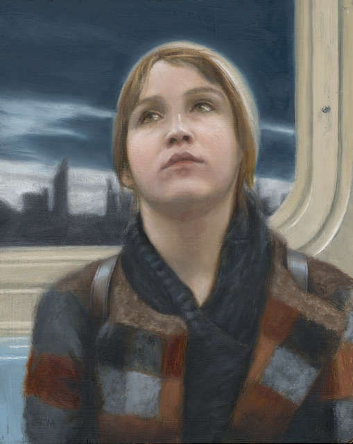 Gayle Madeira, 'Sunset on the N Train', 2019, 33 Contemporary