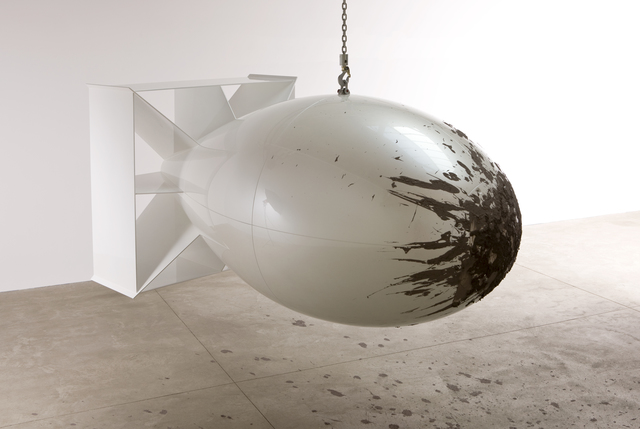 , 'Untitled (Bomb),' 2008, Galerie Thomas Schulte