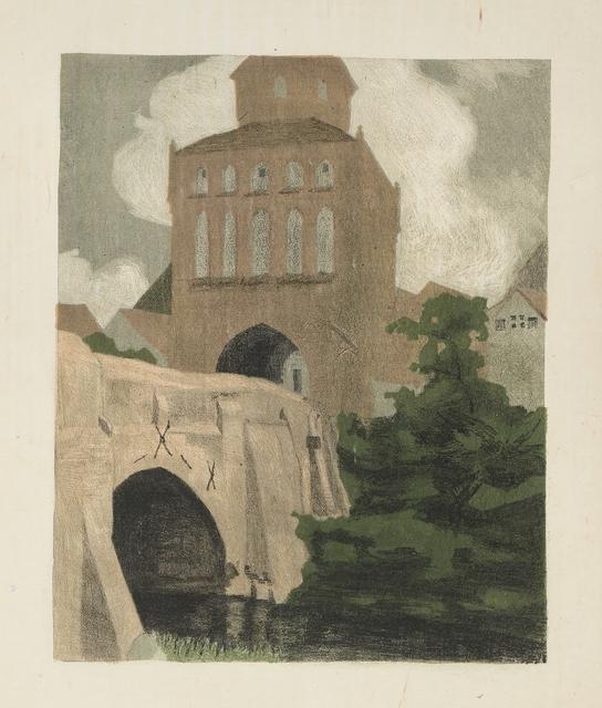 , 'Das Tor, Ribnitz (The gate, Ribnitz),' 1906, Moeller Fine Art