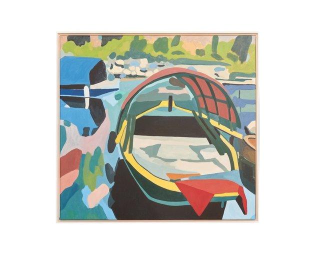 , 'Fischerboote (Lago Maggiore),' 2012, Bode Gallery